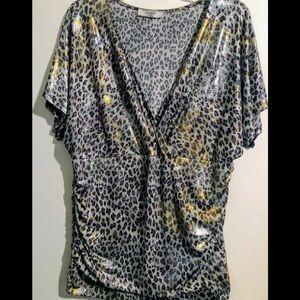 Leopard Print blouse!